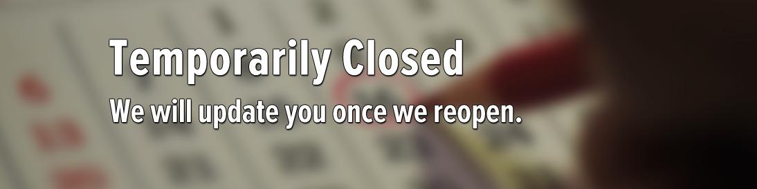 Shooting Range Temporarily Closed